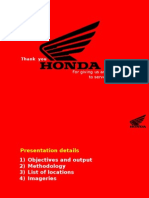 Case Study - Honda campaign by Rural Marketing experts Vritti iMedia