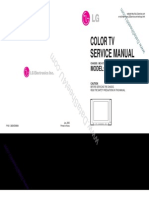 Lg Re-29fa33 Service manual