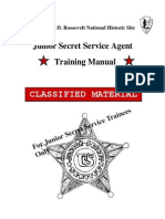 Junior Secret Service Training Manual