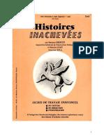 Langue Française Histoires inachevées 01 CE1.doc