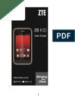 ZTE Kis - User Manual Download