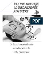 Manual de Masaje Facial Relajante Con Reiki--2014
