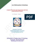 Cn-os-lp Lab Manual k.roshan