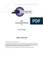CAP Functional Specification