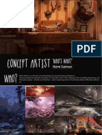 Concept Artist 'Who's Who?' — Rémi Salmon