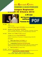 Convegno regionale ecumenismo