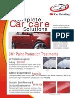 3M Car Care Brochure