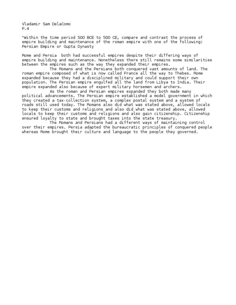 fall of the r empire essay