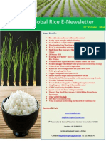 20th October,2014 Daily Global RICE E-Newsletter by Riceplus Magazine