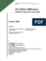 Elec Motor Frequency