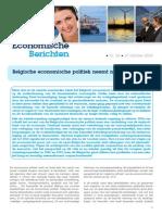 Economische Berichten _Belgische economische politiek neemt nieuwe wending