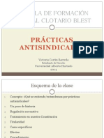 Victoria Cortés - Prácticas antisindicales