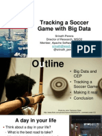 Tracking a Soccer Game With Big Data Presentation