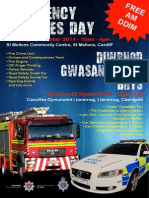 703 Emergency Services Day Poster