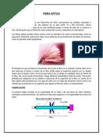 propiedades de la fibra optica