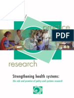 Policy and Systems Research Strengthening_complet