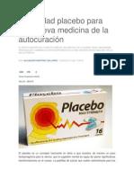 Publicidad placebo para una nueva medicina de la autocuración.docx