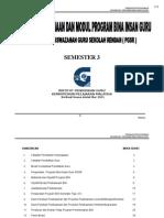 Panduan Pelaksanaan BIG PGSR Sem 3