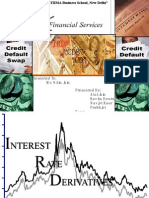 Interest Rate Derivatives; Credit Default Swaps; Currency Derivatives