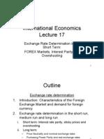 International Econmics Lectures