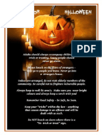 Halloween Advice 2014