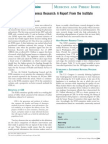 Comparative Effectiveness Research a Report From the Institute