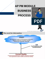 Sap Business Overview - Pm Module