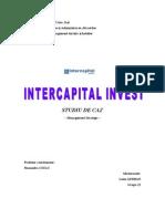 Studiu de Caz Inter Capital Invest