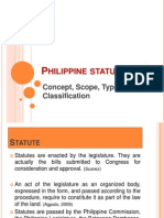 Philippine Statute Law Report
