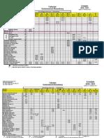 Fahrplan KGN (Hin- und Rückfahrt, vor- und nachmittags)