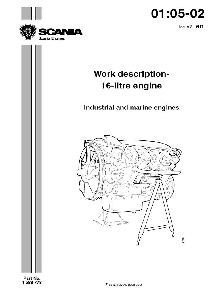 Scania Dc 16 Workshop Manual | Turbocharger | Screw