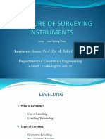 LECTURE 4 Levelling