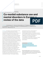 2013 Co-morbid substance use and mental disorders in Europe- a review of the data.pdf