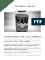 La creatina como suplemento deportivo.pdf