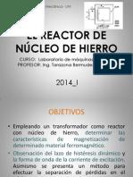 SUSTENTACION_REACTOR DE NÚCLEO DE HIERRO.docx.pptx