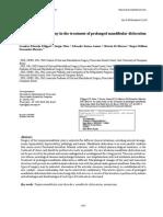 Efficacy of Eminectomy in the Treatment of Prolonged Mandibular Dislocation