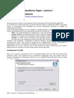 JSP - Lezione 2 - Prepariamo l'Ambiente