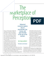 Marketplace of Perceptions