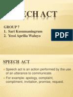 Speech Act Pragmatik Kelompok 7