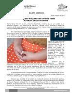 18 de octubre de 2014 EXHORTA SSO A MUJERES DE 20 AÑOS Y MÁS AUTOEXPLORAR SUS SENOS .doc