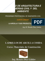 QUINTA UNIDAD -B - LA ARCILLA Y SUS PRODUCTOS DERIVADOS.pdf