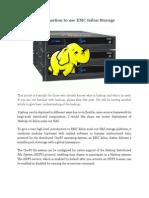 Hadoop Configruation to Use EMC Isilon Storage