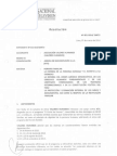 Resolución N° 001-2014 SNRTV