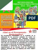 PRESUPUESTO PARTICIPATIVO 2014 2015.pptx