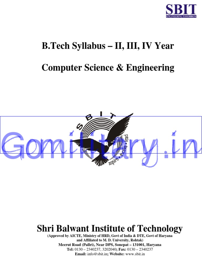 Cse Btech Upto 8th Sem Syllabus Instruction Set Technology Intranet Diagram Apache Iis And Pws