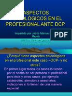 Aspectos Psicolgicos Ante Dcp