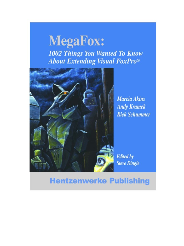 megafox 1002 things you always to know about extending visual rh scribd com