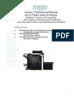 Scan to Folder Setup on Konica (Win 7 Pro at Machine)