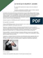 Sistemi & Consulenze Servizi per la Qualità aziendale
