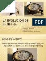 La EVOLUCION DE EL RELOJ.pptx